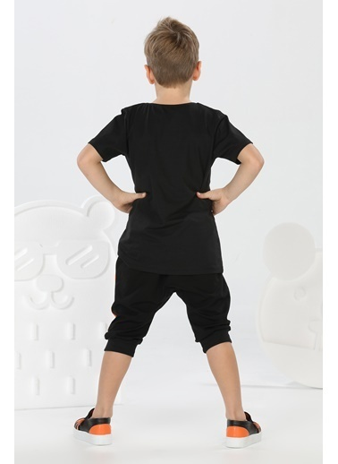 Lupiakids Lets Walk Erkek Çocuk Tshirt+Kapri Takım Renkli